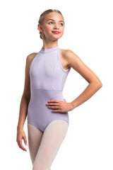 Girls Vera Leotard with Mesh