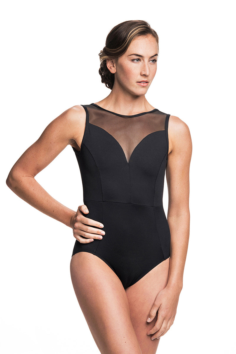 Bianca Leotard with Mesh