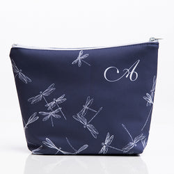 Makeup Bag in Dragonfly Print