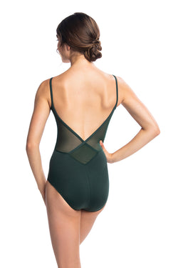 Allegra Leotard with Mesh