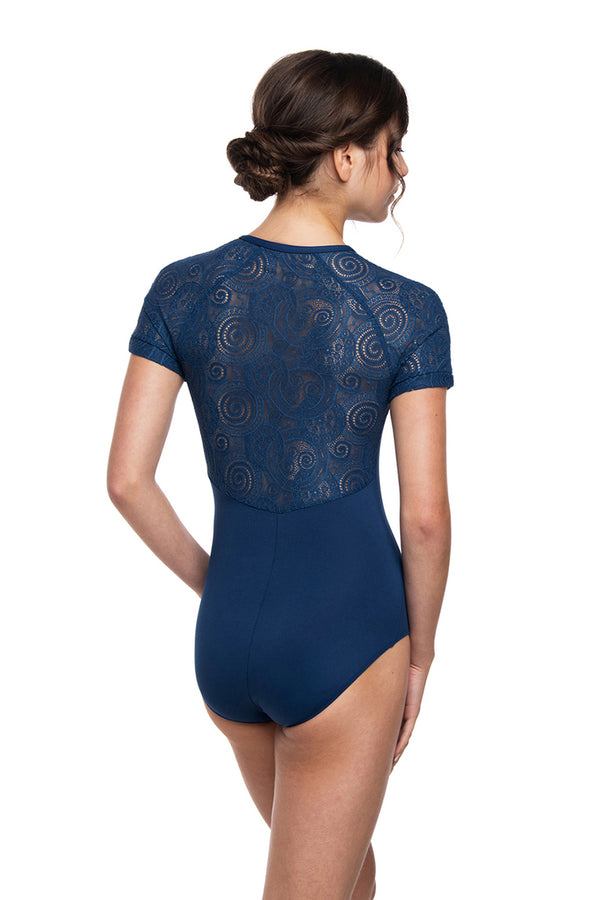 Emily Leotard with Lola Lace