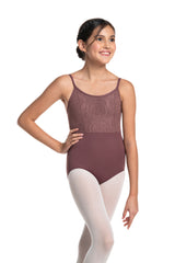 Girls Samantha Leotard with Lola Lace