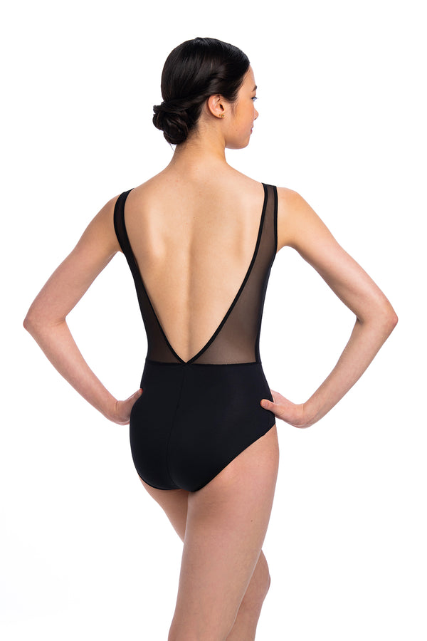 Lennon Leotard with Mesh