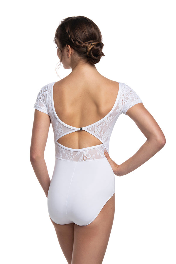 Daria Leotard with Kara Lace