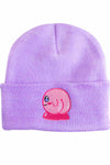 Funny Kirby Embroidered Beanie