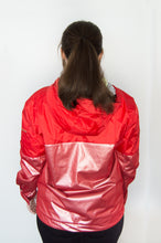 Load image into Gallery viewer, Red Pre-Designed Windbreaker