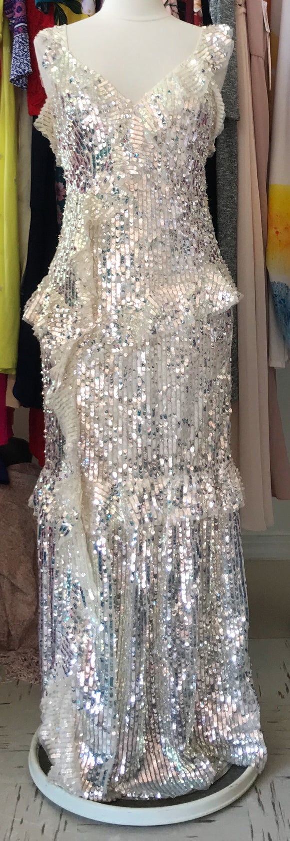 Scarlett Sequin Maxi Dress- Size 10