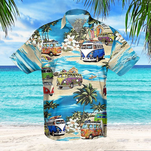 G'DAY CAMPING HAWAIIAN SHIRT