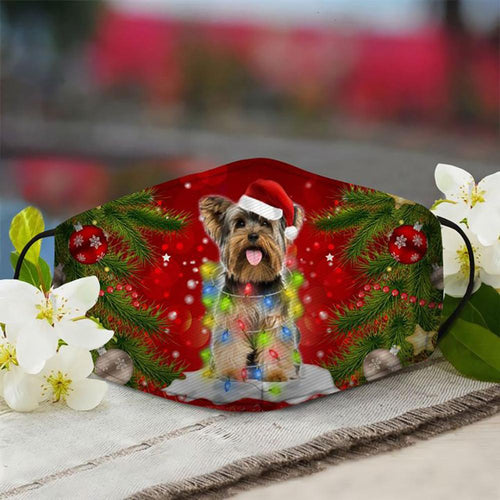 YORKSHIRE TERRIER CHRISTMAS TREE PL40