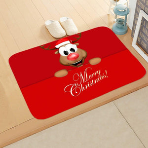 Doormat Merry Christmas Decor for Home KT04