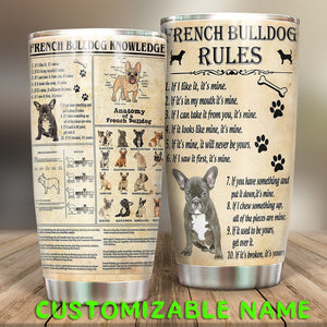 French Bulldog  Tumbler