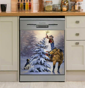 Upon The Highest Bough Horse Dog Decor Kitchen Dishwasher Cover