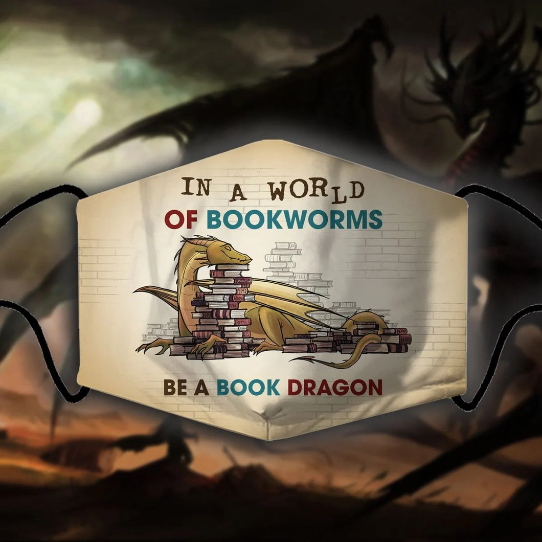 BE A BOOK DRAGON FM