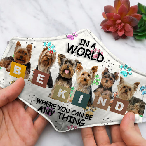 YORKSHIRE TERRIER BE KIND GO77
