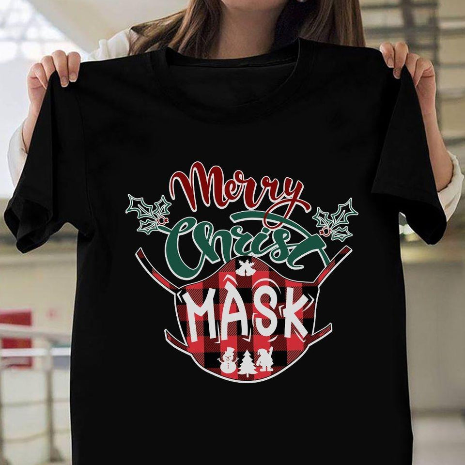 Merry Christmask T-shirt