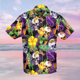 Hawaii Skull Beach Shirt