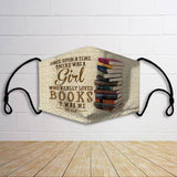 BOOKS ONCE UPON A TIME THERE WAS A GIRL LOVED BOOKS OD16 FM
