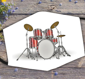 Drum Set Mask for Drummers