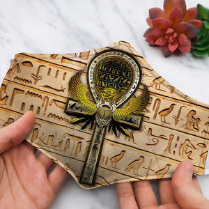 Ancient Egypt Gold Symbols Further