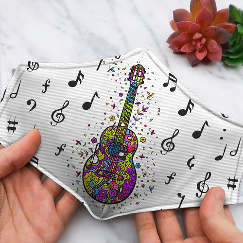 GUITAR HIPPIE AND MUSIC NOTE ZH37