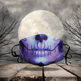 HALLOWEEN FABRIC FACE COVER AZS0004
