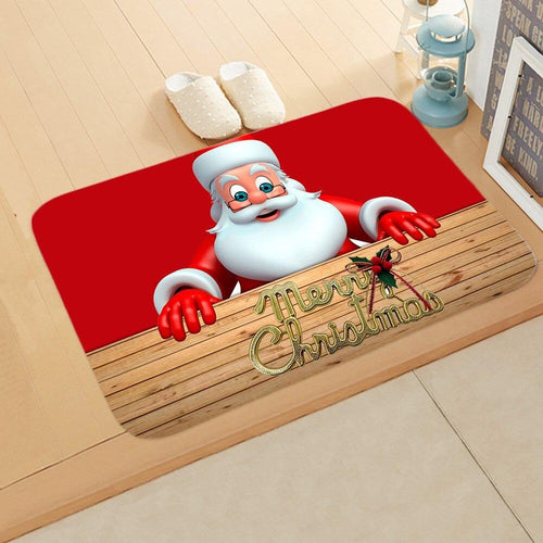 Doormat Merry Christmas Decor for Home KT12