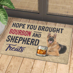 Hope You Brought Bourbon And Shepherd Treats