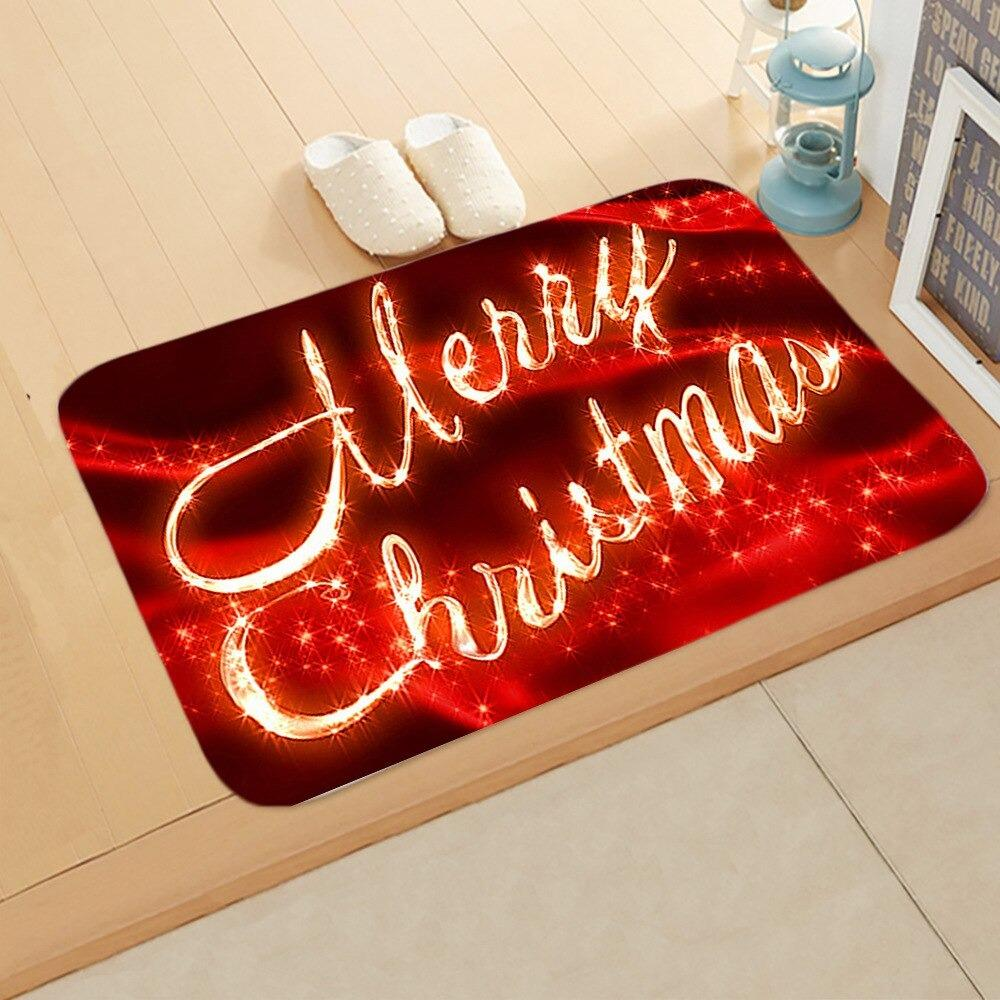 Doormat Merry Christmas Decor for Home KT09