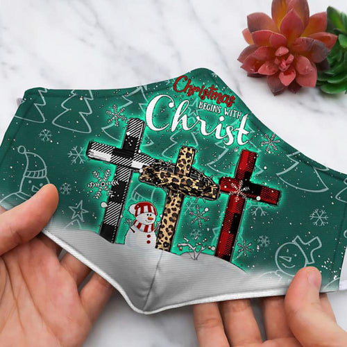 CHRISTMAS BEGINS WITH CHRIST DF122