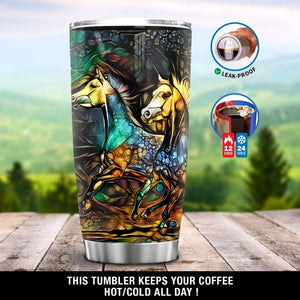Horse Painting Tumbler