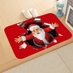 Doormat Merry Christmas Decor for Home KT07