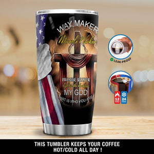 Personalized Way Maker  Tumbler