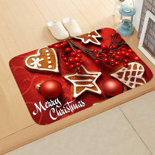 Doormat Merry Christmas Decor for Home KT05
