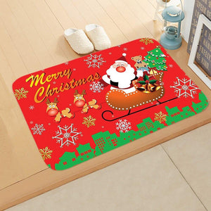 Doormat Merry Christmas Decor for Home KT02