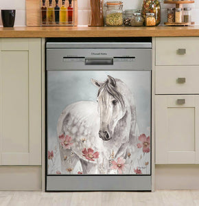 Wild Horses Decor Kitchen Dishwasher Cover