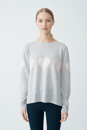 First Love Sweater - Mariner