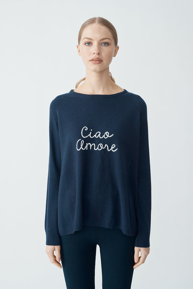 Ciao Amore Sweater - Blush