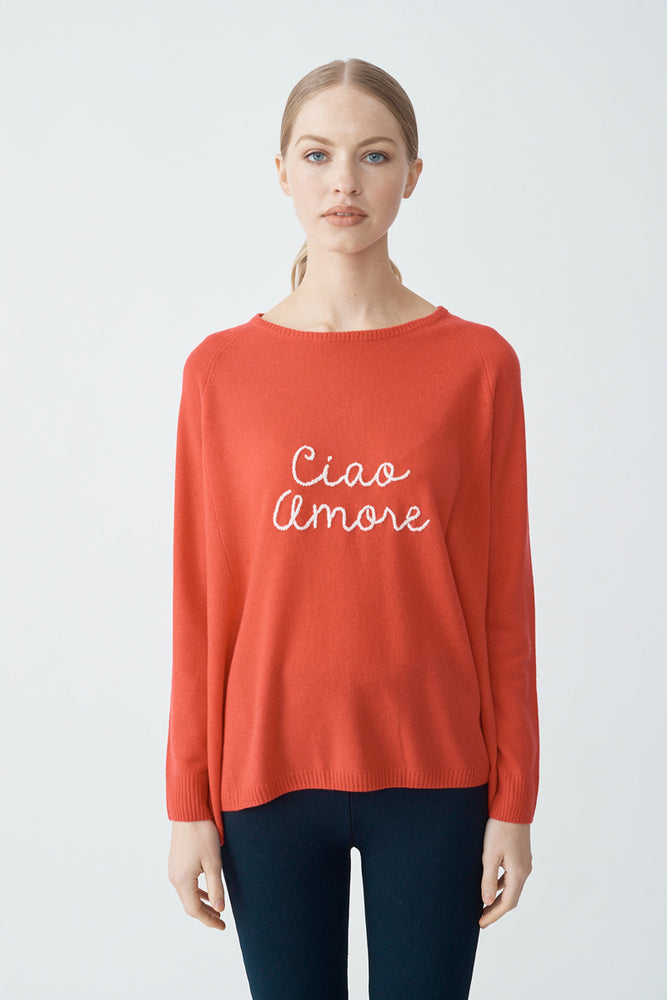 Load image into Gallery viewer, Ciao Amore Sweater - Blush