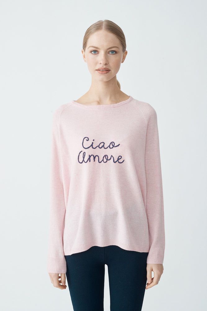Ciao Amore Sweater - Mariner