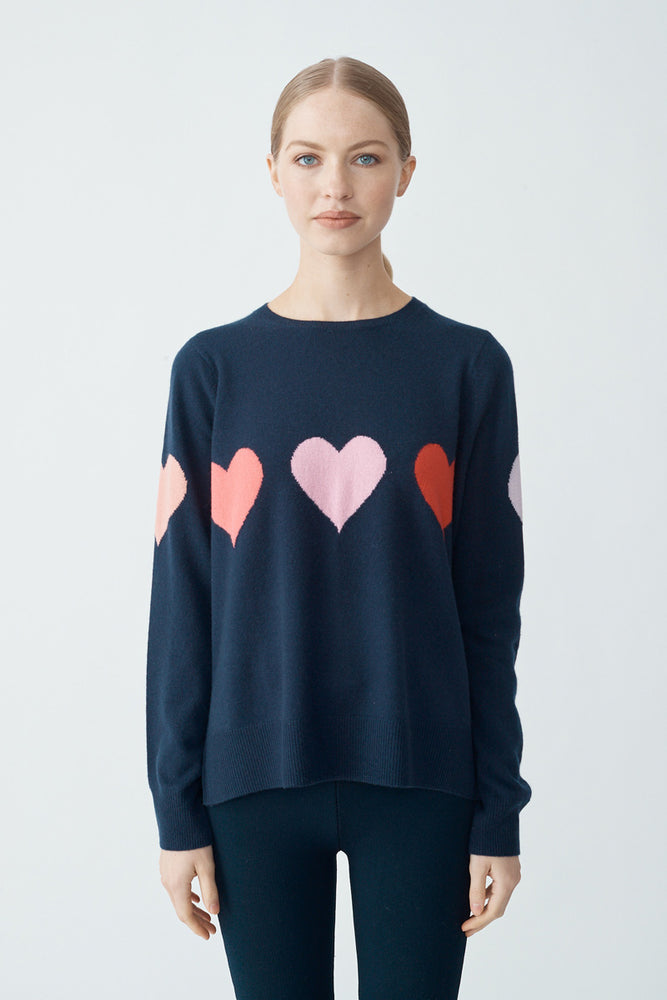 First Love Sweater - Fly/White