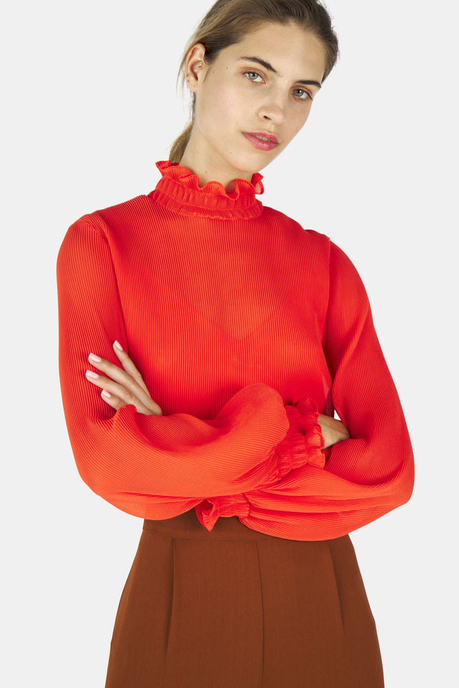 Load image into Gallery viewer, Therese Top - Coral