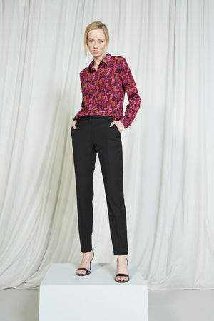 Load image into Gallery viewer, Classic Cigarette Pant - Black