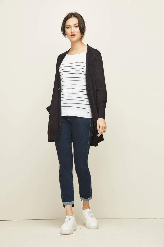 Cassidy Cardigan - Midnight
