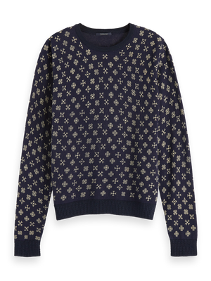 All-Over Printed Pullover