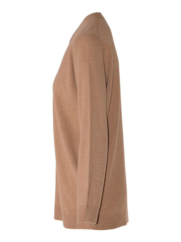 Load image into Gallery viewer, Ilaria Cashmere Cardi - Camel