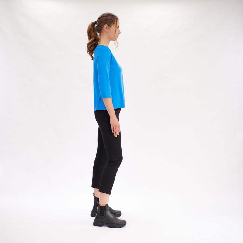 Load image into Gallery viewer, Ankle Pant - Black