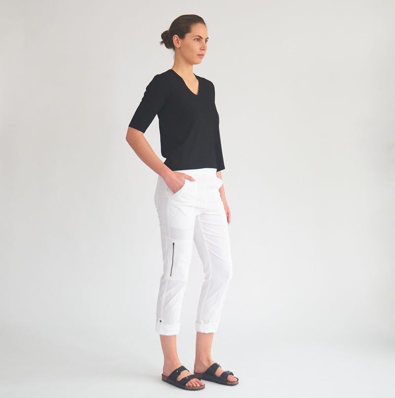 Elbow top - Black