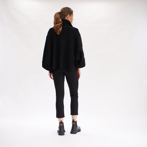 Load image into Gallery viewer, Cape Jacket - Black