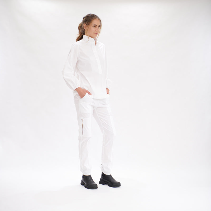 Load image into Gallery viewer, Studio Blouse - White