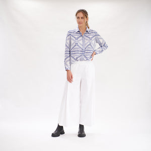 Load image into Gallery viewer, Soft Shirt - Denim Check